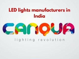 LED light manufacturers in Delhi