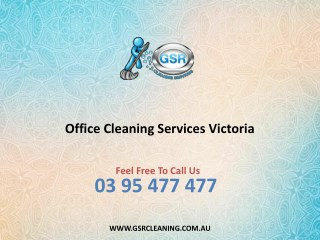 Office Cleaning Services Victoria