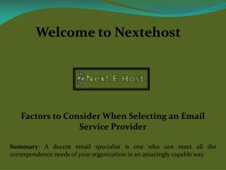 best email service for business, Mass email marketing services- nextehost