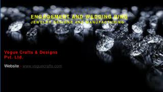 wedding rings at vogue crafts and design