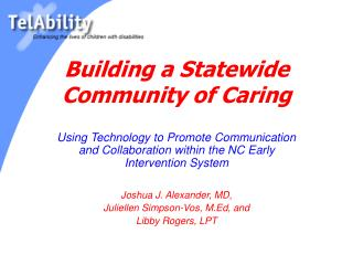 Building a Statewide Community of Caring