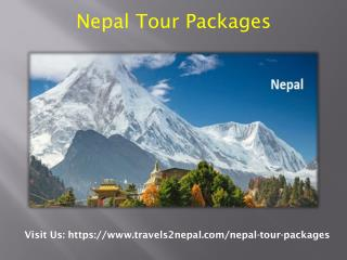 Fundamental Goods Nepal Tourism Package