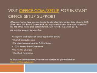 Office.com-Setup-How to Install Office