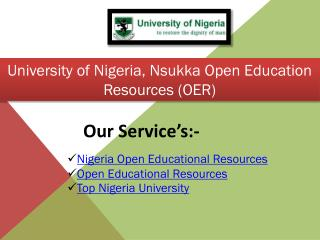 Nigeria Open Educational Resources
