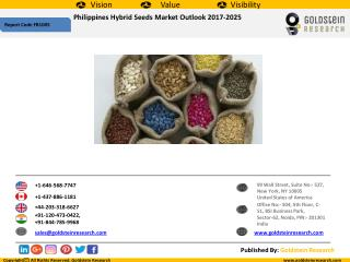 Philippines Hybrid Seeds Market Outlook 2017-2025