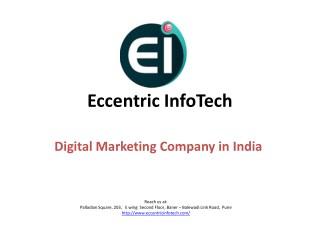 Digital Marketing Company, Agency in Pune, India - Eccentric