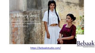 Memorylane Cotton Apparel Collection - BebaakStudio