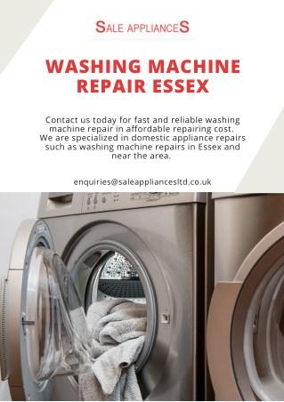 Washing Machine Repair Essex