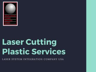 Top Laser Cutting Plastic Services