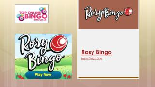 Rosy Bingo - 300% up to £100 | 67 Spins!