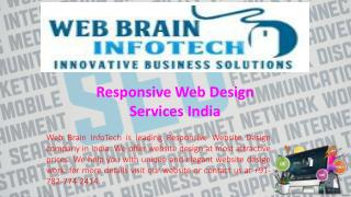 Responsive Web Design Services India