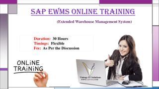 SAP EWM Material PPT
