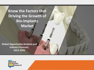 Where Does Bio-Implants Market Stands in Healthcare Industry?