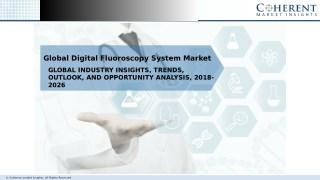 Global Digital Fluoroscopy System Market Share, and Outlook 2026