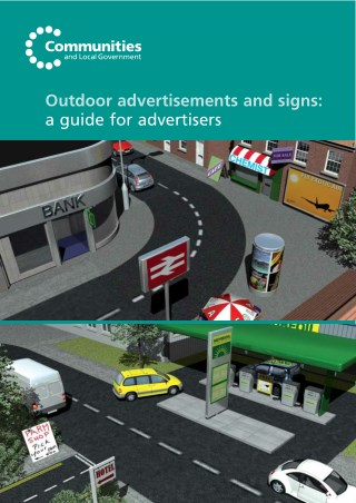 Outdoor Advertisements and Signs: A Guide for Advertisers