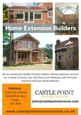 Home Extension Builders - Caste Point Construction
