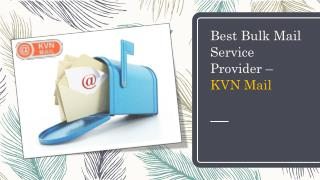 Email Marketing Service | KVN Mail