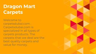 Dragon Mart Carpets Dubai