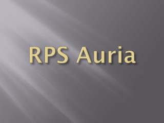 RPS Auria - RPS City Auria Residences - Rps Auria Faridabad
