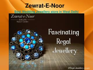 Best jewellery showroom in west delhi