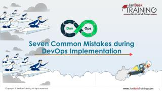 Seven Mistakes During Devops Implementation