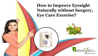 How to Improve Eyesight Naturally without Surgery, Eye Care Exercise?