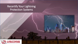Recertify Your Lightning Protection System
