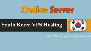 South Korea VPS Hosting Plans at Low Cost | Call@ 919718114224