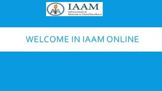 IAAM Online