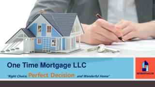 Mortgage Lending Company in Virginia | One Time Mortgage