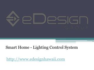 Smart Home - Lighting Control System