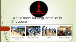Best Team Building Event organizers in Singapore
