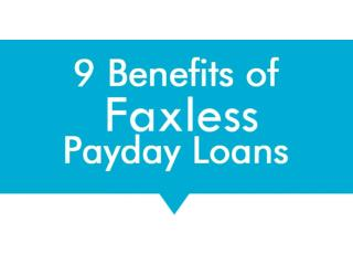 Faxless Payday Loans Bad Credit - Meet Any Kind of Financial Problems Now