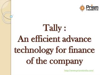 Tally solutions   Tally accounting software company in pune  PrismIT