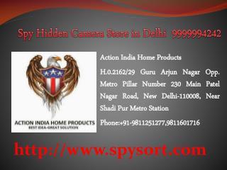 Spy Hidden Camera in Delhi