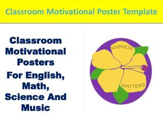 Do Classroom motivational posters basically get the job done?