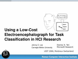 Using a Low-Cost Electroencephalograph for Task Classification in HCI Research