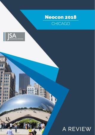 JSA Review of Neocon 2018 Chicago by John Sacks