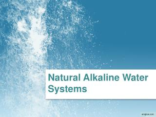 natural alkaline water systems