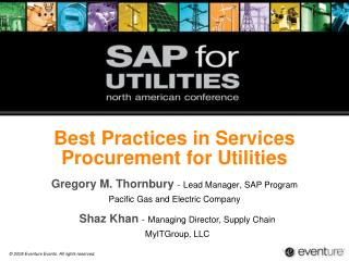 Best Practices in Services Procurement for Utilities