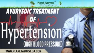 Ayurvedic Medicine For High Blood Pressure (Hypertension)