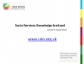 Social Services Knowledge Scotland     powered by The Knowledge Network
