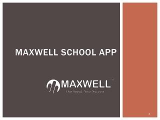 Best School Communication App in Malaysia | School Management App - maxwellglobalsoftware.com