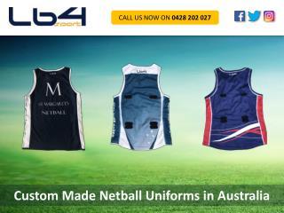 Custom Made Netball Uniforms in Australia
