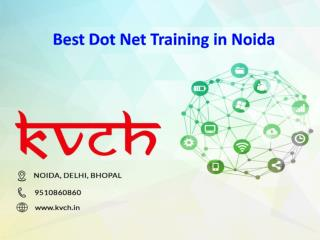 Best Dot NET Training Institute in Noida – KVCH