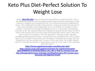 Keto Plus Diet-Lose Weight Easily