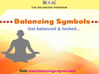 Balancing Symbols-Learn at Balancing Program