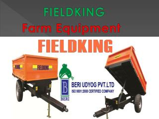 Tractor Implements - Fieldking