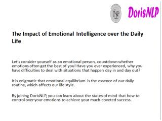 The Impact of Emotional Equilibrium over the Daily Life