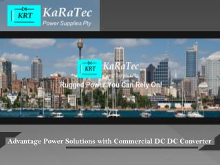 Advantage Power Solutions with Commercial DC DC Converter